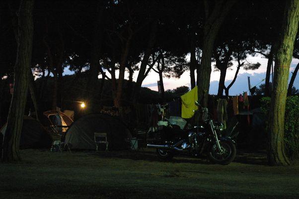 Camping à Barcelone