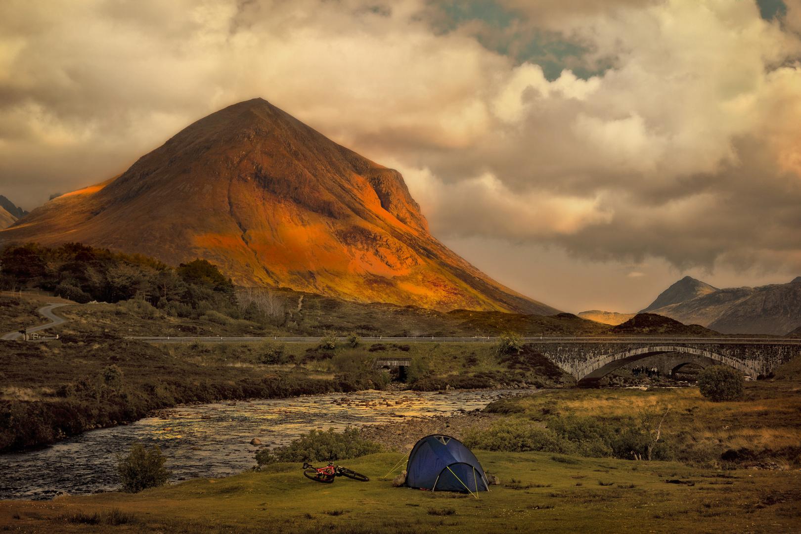 camping à Sligachan