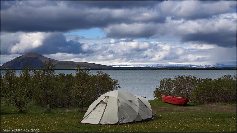 Camping am Myvatn...