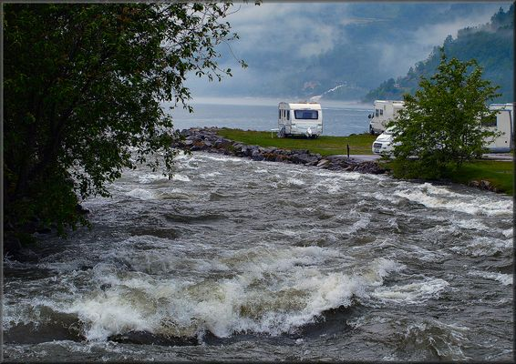 Camping in Geiranger