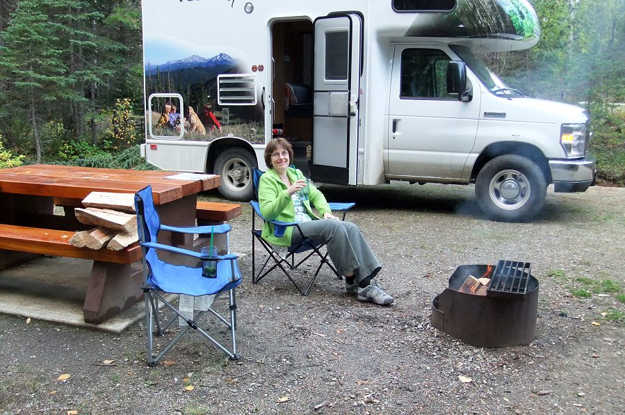 Camping in Kanada
