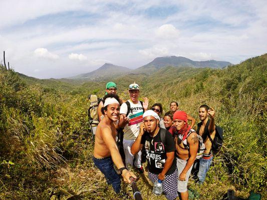 Camping in the Mountains - Isla Margarita, Venezuela