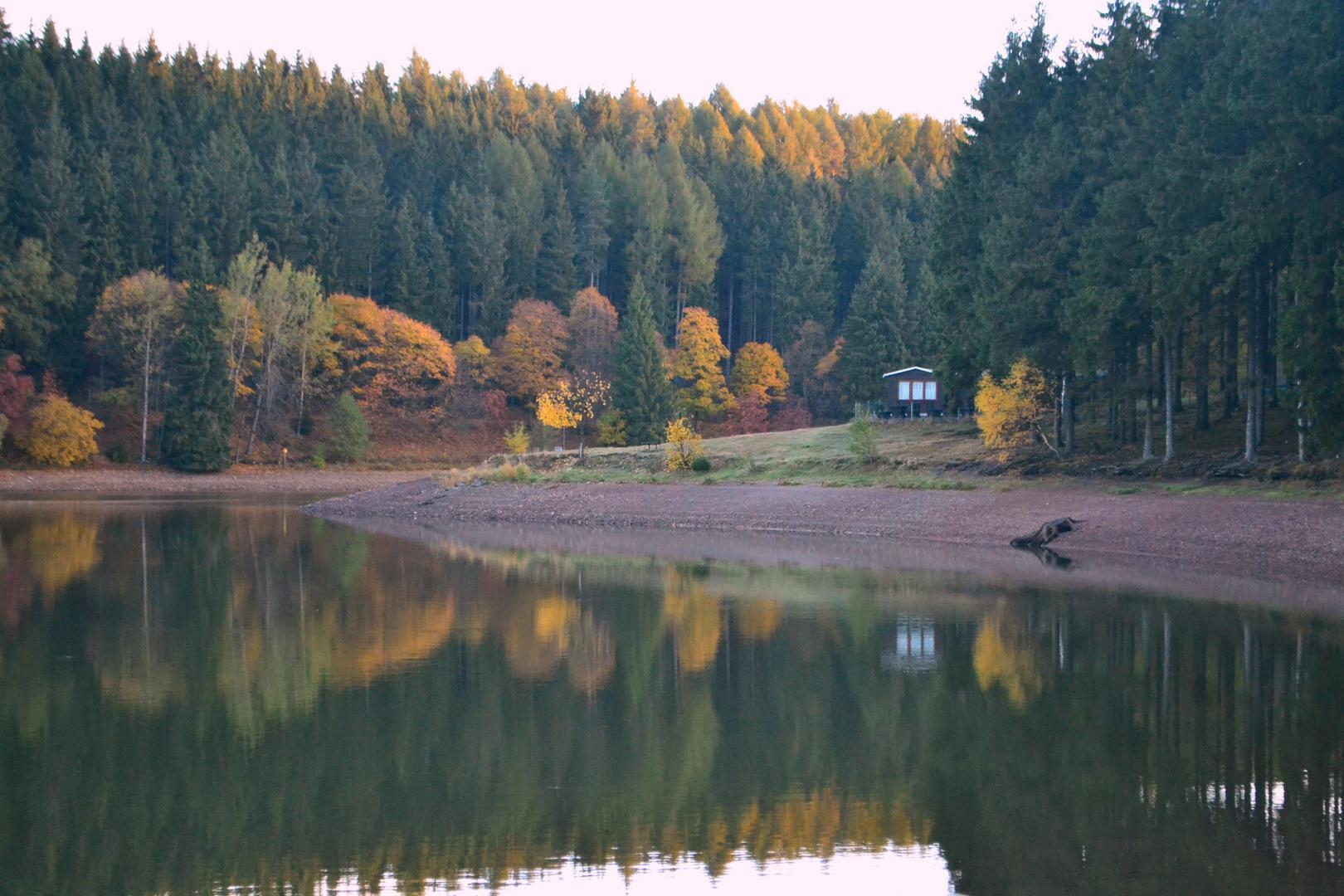 Campingplatz am Lütschestausee