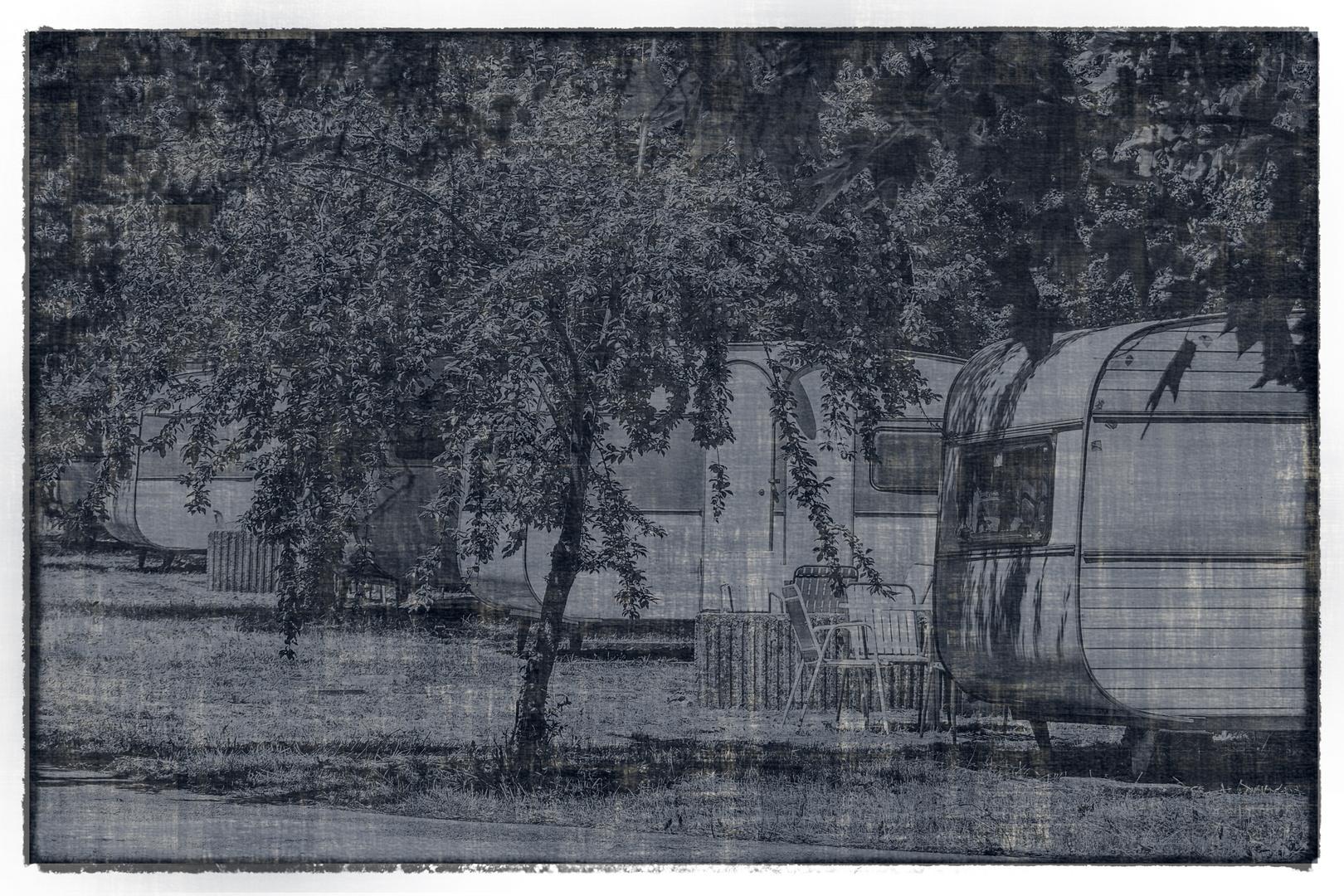 Campingplatz Tristesse bei Sv. Naum - Macedonia