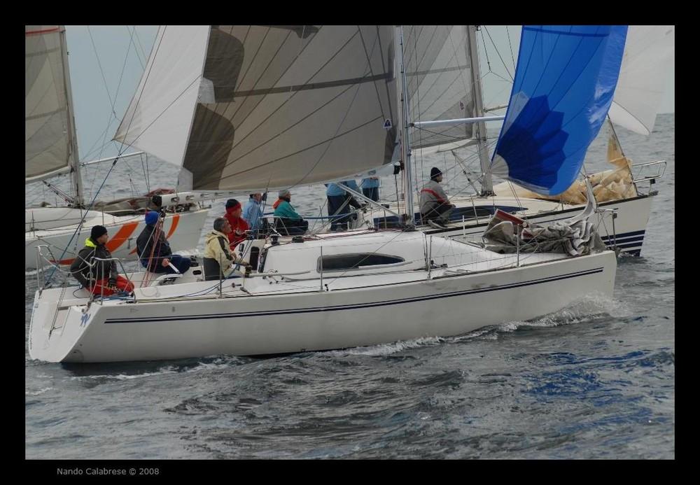 Campionato Invernale di Vela a Napoli - L'ingaggio