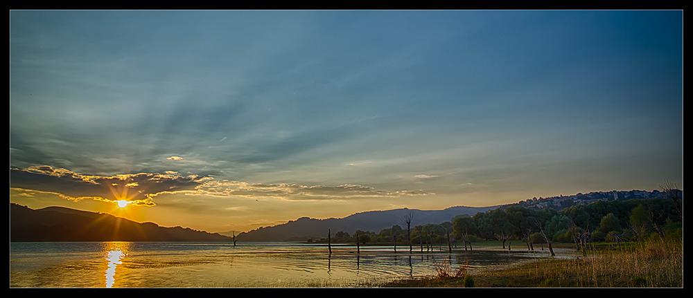 Campotosto Sundown