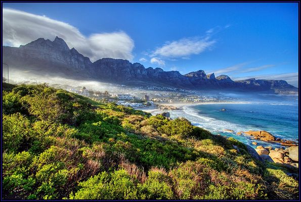 Camps Bay in HDR +TM
