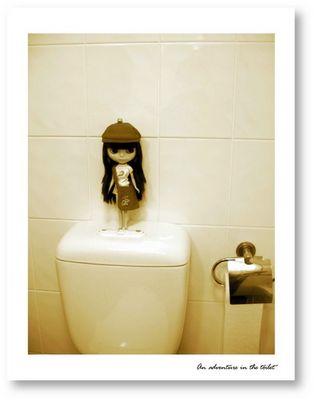 Can I flush?