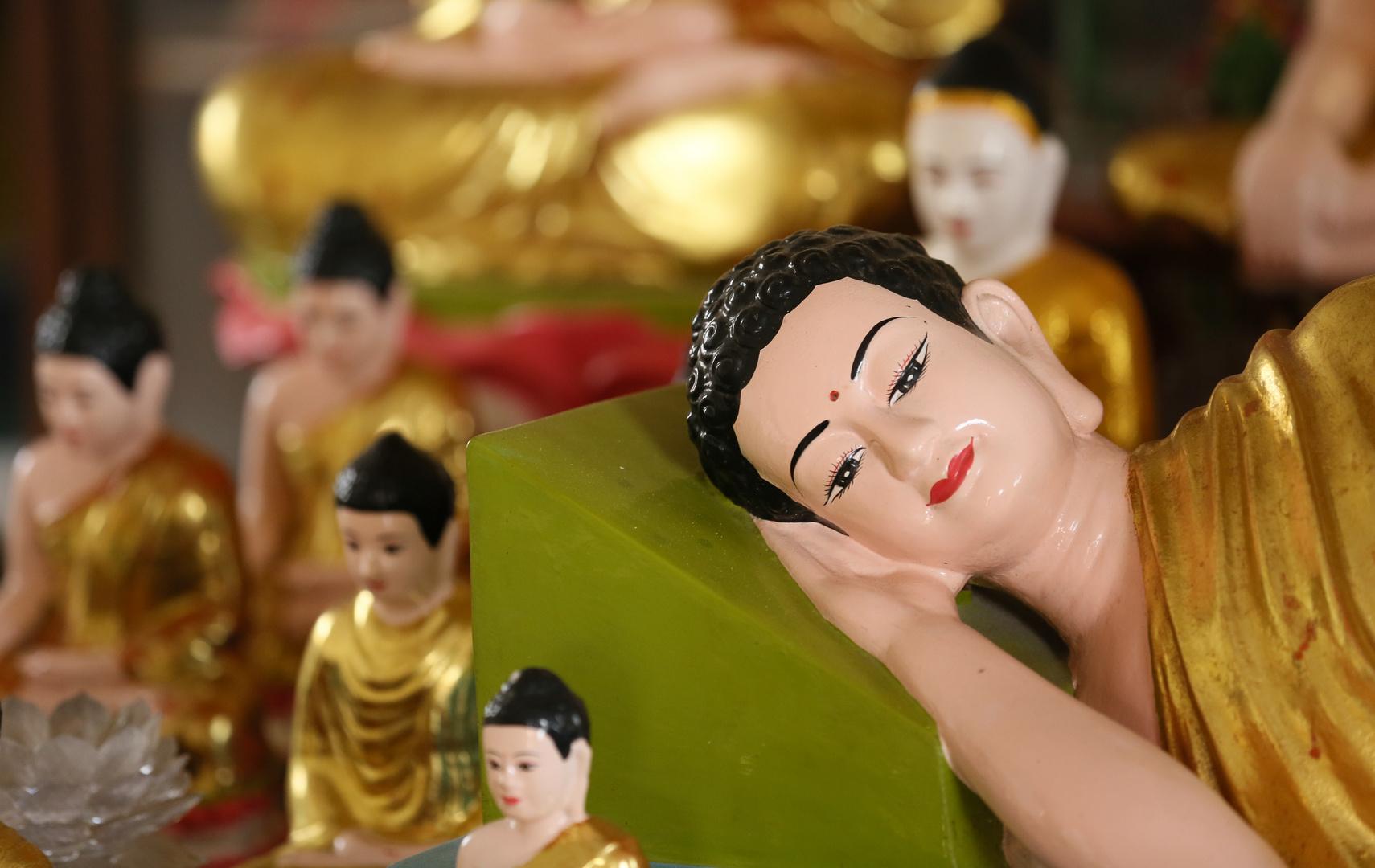 Can Tho, ruhender Buddha
