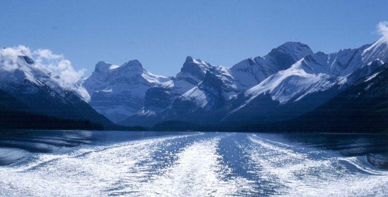 Canada Maligne Lake Jasper