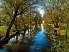 Canal de Neuer Garten (Postdam Berlin Branderburg Alemania)