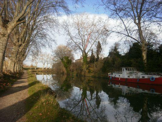 canal du midi-beziers