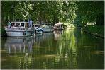 Canal du Midi im Département Hérault