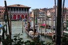 Canal Grande mit Fischmarkt