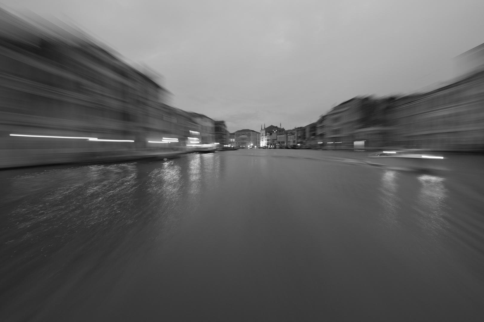 Canal Grande  -  Tunnelblick