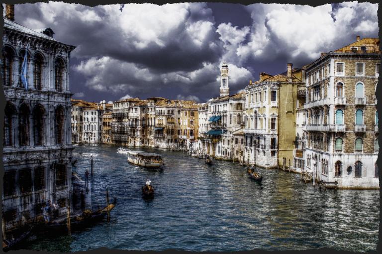 - Canàl Grande von der Ponte di Rialto -