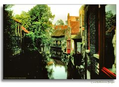 Canal Reflections, Bruges