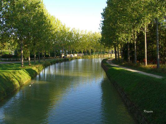 canal vers Semur en Auxois