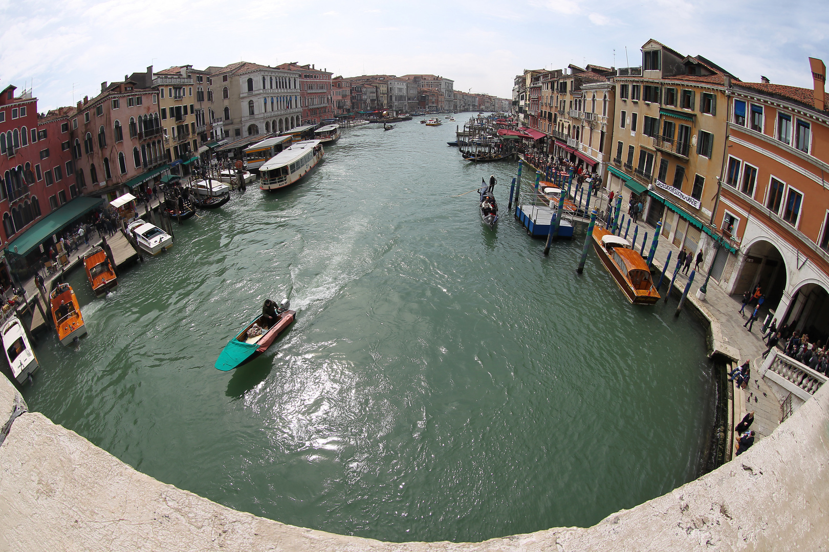 Canale Grande (fisheye)
