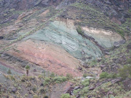 CANARIES vue de la roche