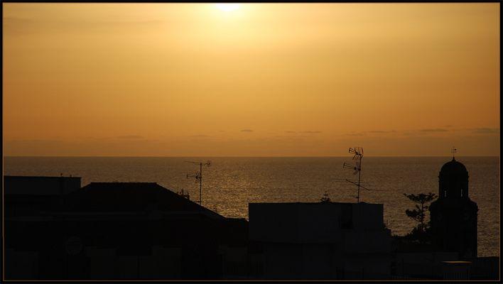 .Canary Sunset.