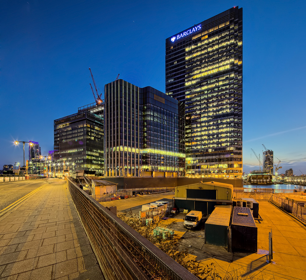 Canary Wharf...