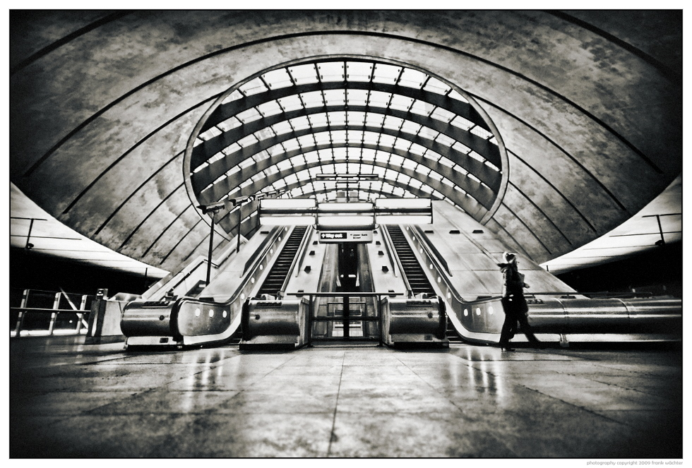 • Canary Wharf Tube Station •