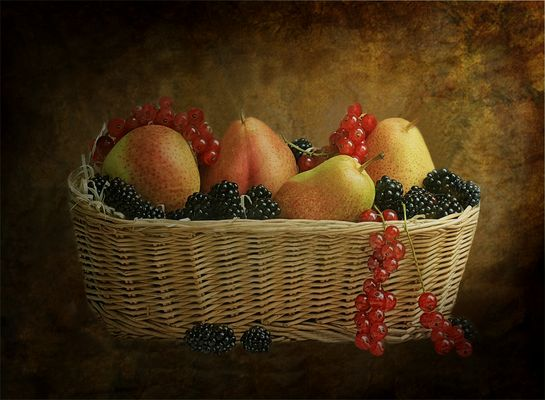 Canastito con Frutas