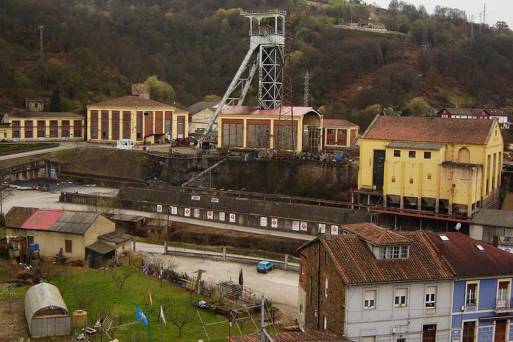 Candín colliery; Asturias - Northern Spain