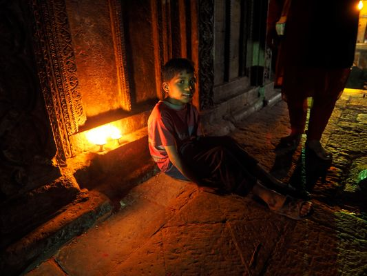 Candle Light Child