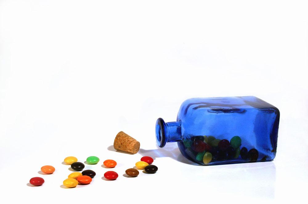 Candy aus der Flasche