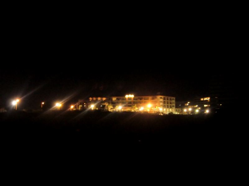 Canet Frankreich bei Nacht