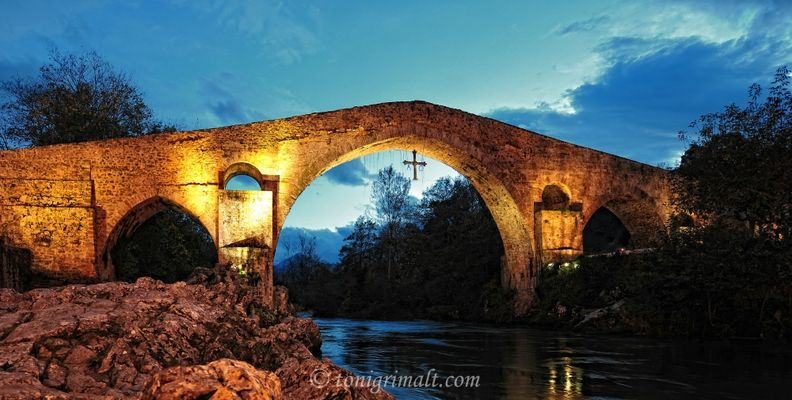 Cangas de Onís, el puente