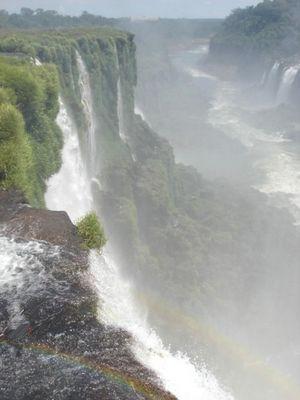 Canion das Cataratas do Iguaçu.