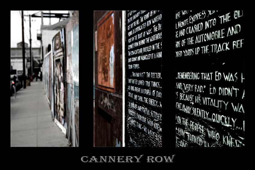 Cannery Row in Montery
