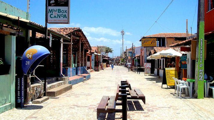 Canoa 2Km von Majorlandia Praia entfernt