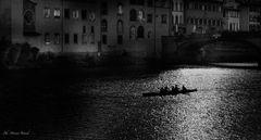 """"""" Canoe di notte """""""