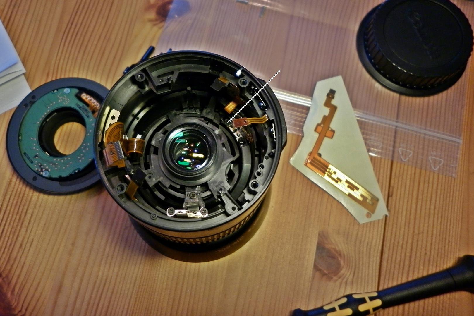 Canon 18-55 mit FPC-Problem gelöst