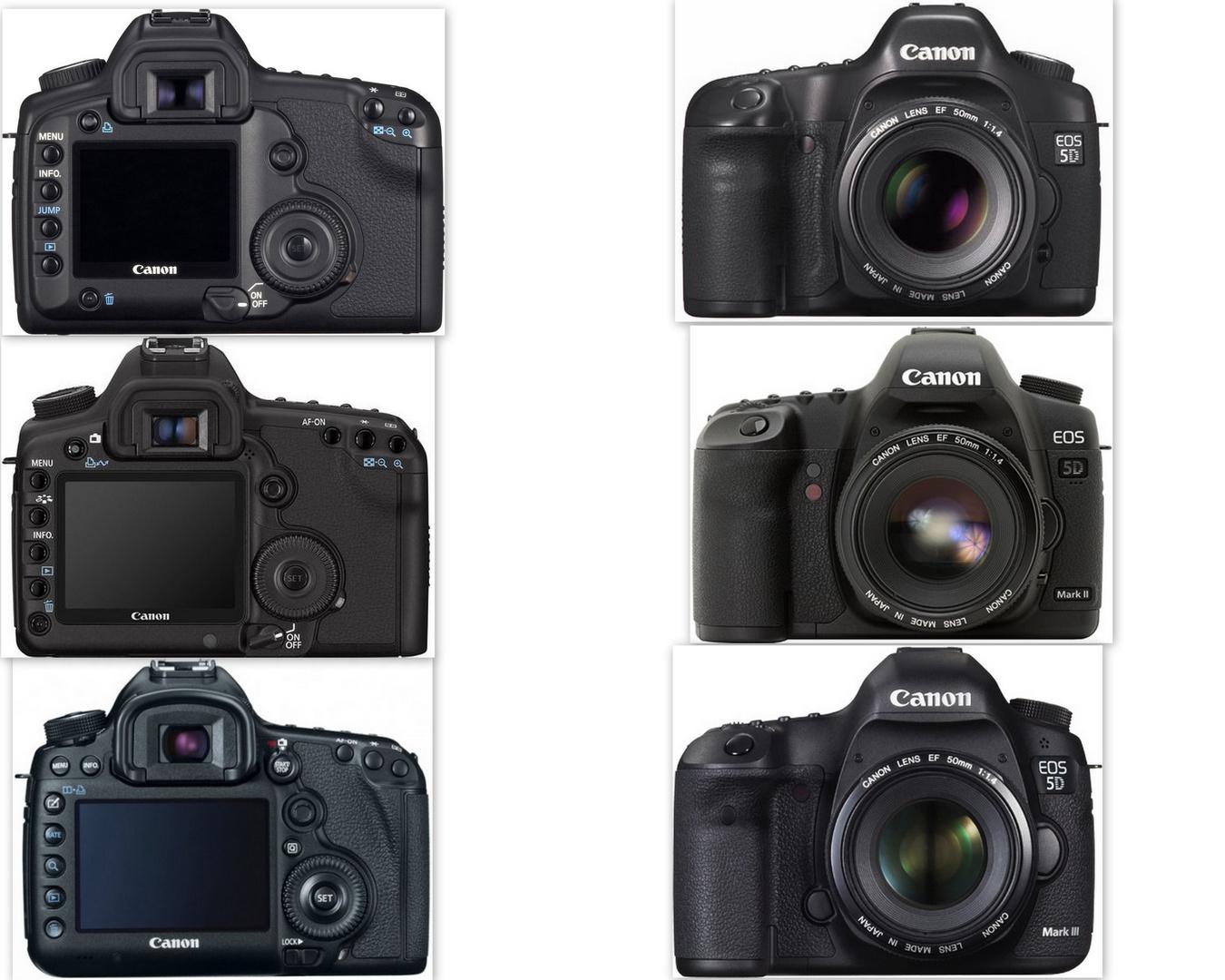 Canon 5D Geschichte