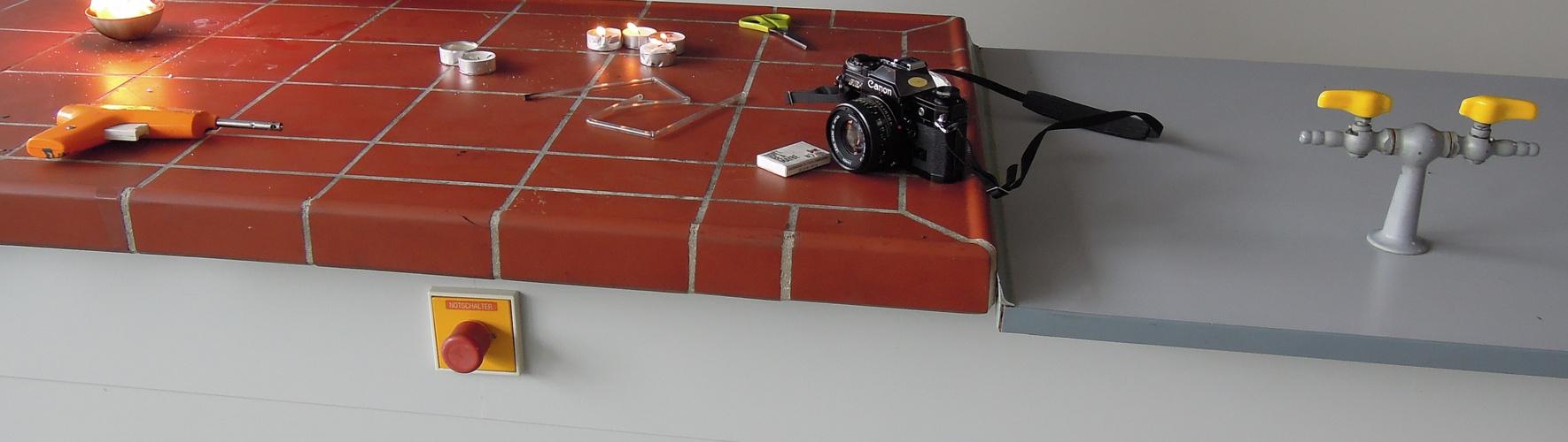 Canon AE-1 als Dokumetationsgerät im Chemieraum