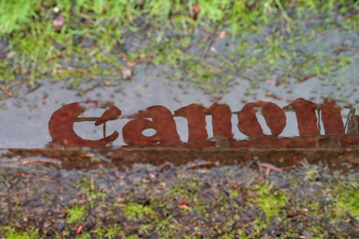 Canon mal anders
