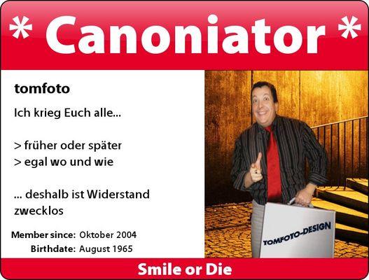 * Canoniator *