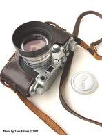 "Canon`s ""Japanese Sonnar"" and Leica IIIC"