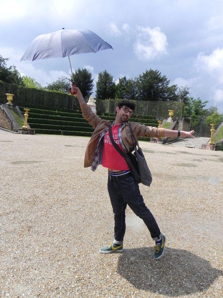 cantando bajo la lluvia,Versailles