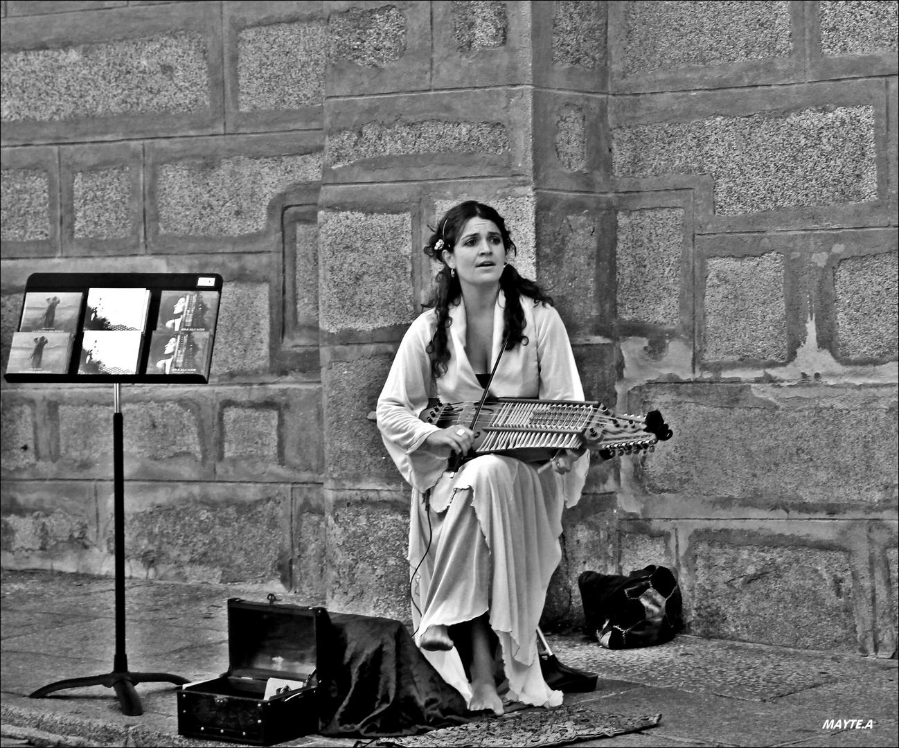 Cantante Medieval.