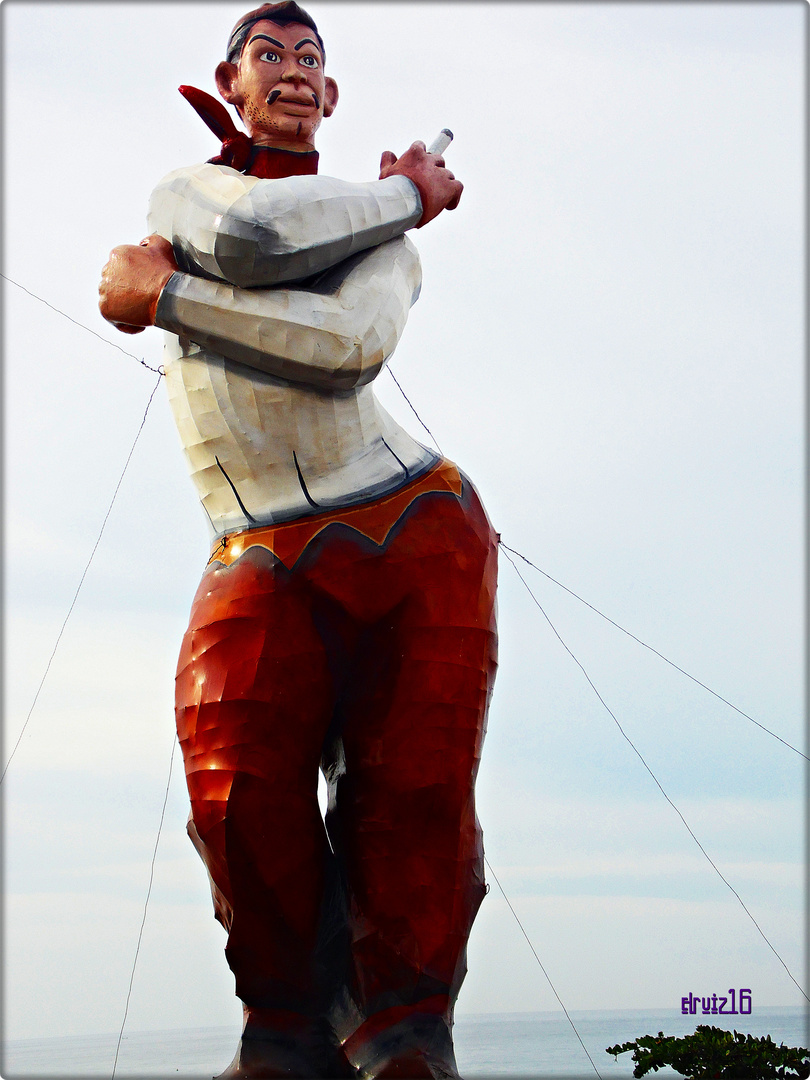 Cantinflas en el Carnaval, Mazatlán 2013