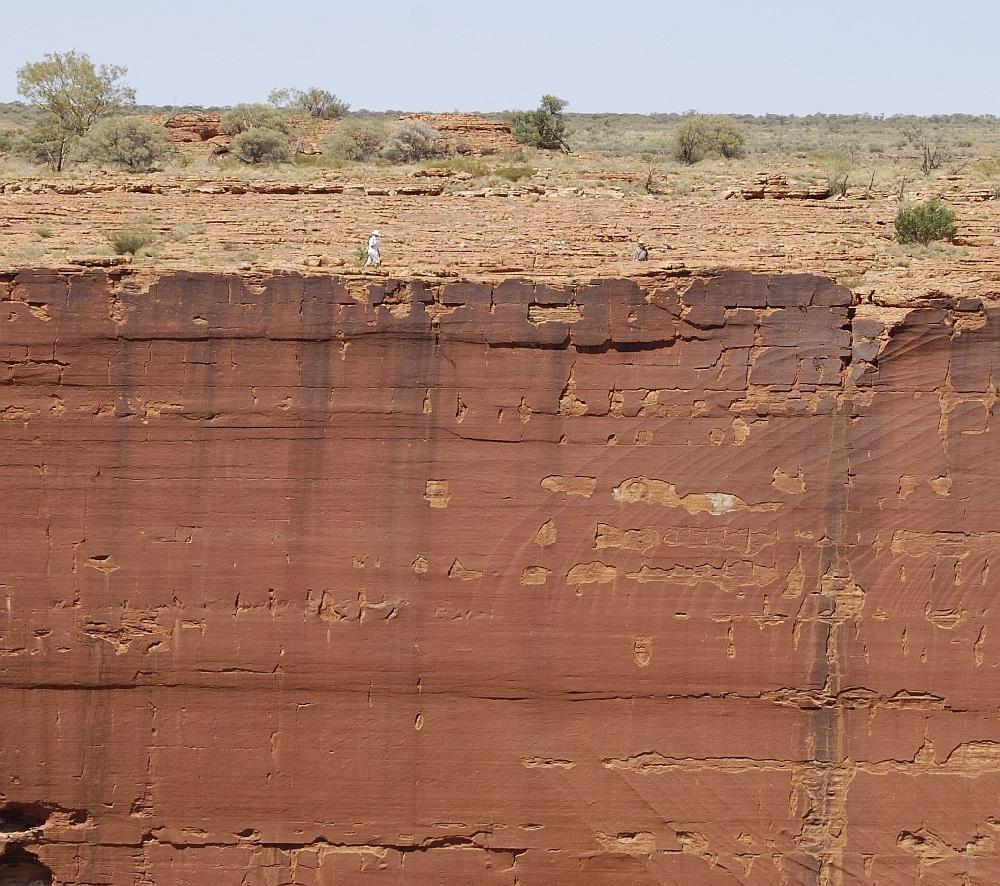 Canyon Abgrund
