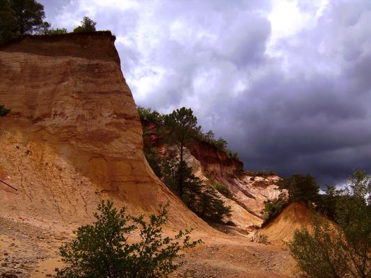 Canyon d'ocre