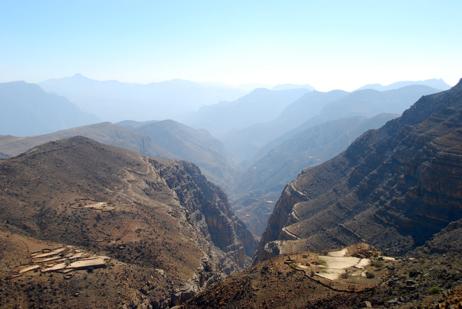 Canyon in Mussandam/Oman