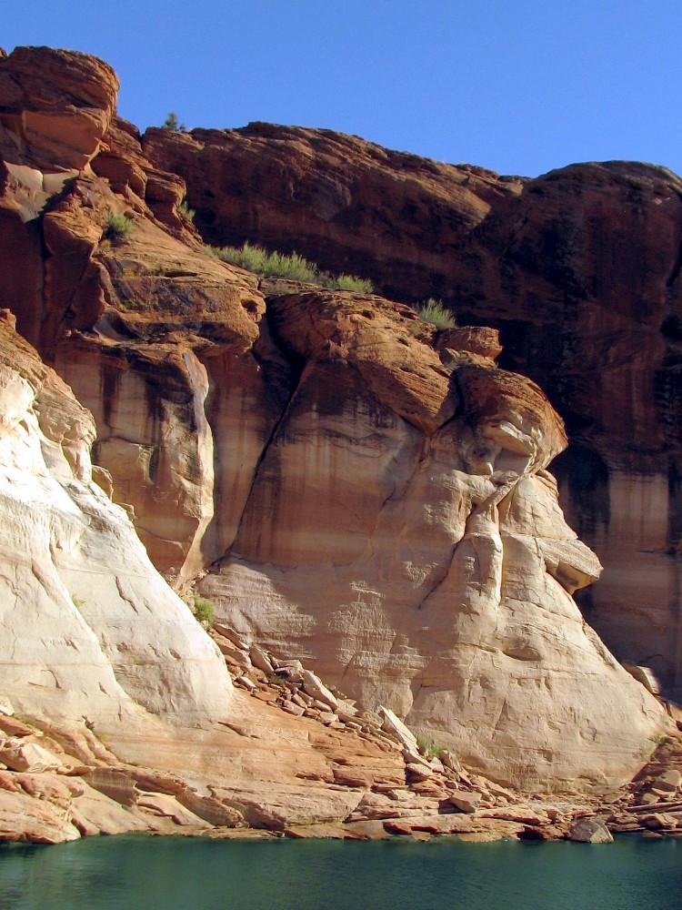 canyon inondé
